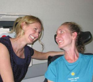 Molly and Mariah (McGuire VAMC, 7/25/08)