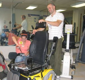 Tweaking the Power Wheelchair (McGuire VAMC, 8/7/08)