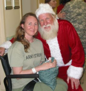 Visit With Santa (McGuire VAMC, 12/10/08)